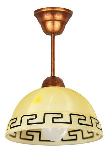 Retro prívesková lampa