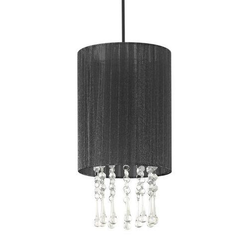 Klasická závesná lampa Black Venice 1 S