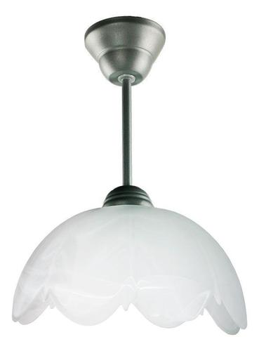 Klasická závesná lampa Cubic Zirconia B Grey