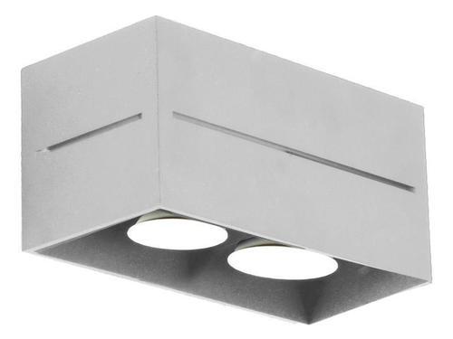 Moderný plafond Quado Pro 2 Popiel