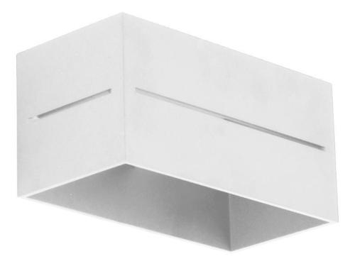 Moderné nástenné svietidlo Quado Pro B biele