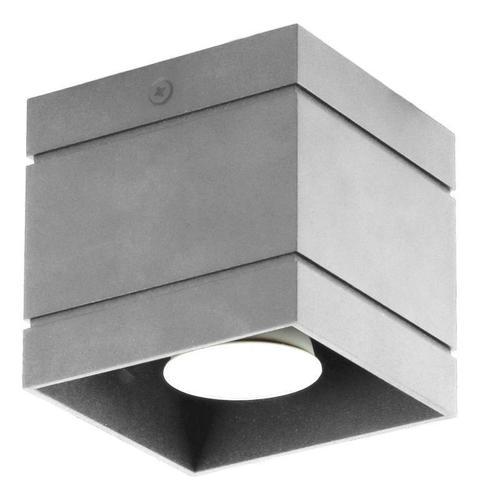 Dizajnové stropné svietidlo Quado Deluxe 1 Grey