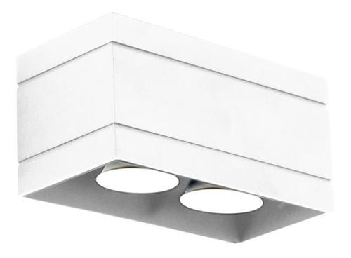 Moderné biele stropné svietidlo Quado Deluxe 2