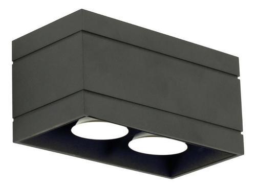 Moderný čierny strop Quado Deluxe 2