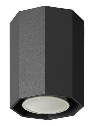 Moderné čierne stropné svietidlo Okta 10