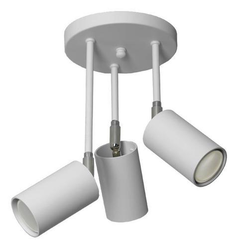 Moderné stropné svietidlo Rolos 3 B Popiel