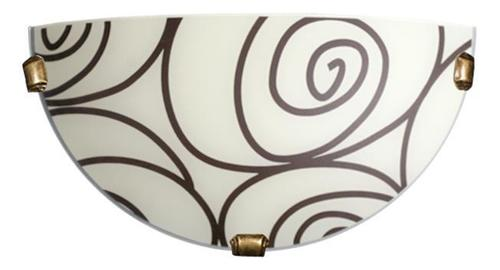 Klasická nástenná lampa Helix Ecru K1