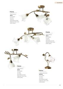 Klasické stropné svietidlo Planta 3 small 10