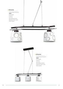 Klasická závesná lampa Alicante 1 small 3