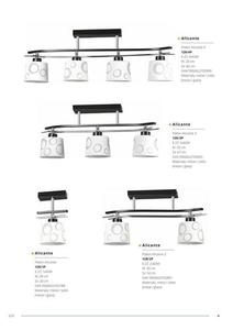 Klasická závesná lampa Alicante 1 small 5