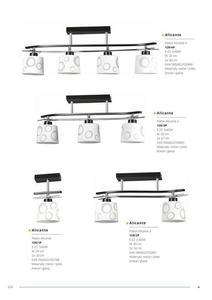 Klasická závesná lampa Alicante 4 small 5