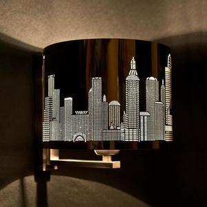 Moderné nástenné svietidlo City small 1