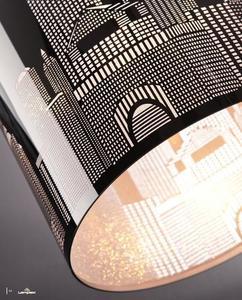 Moderné nástenné svietidlo City small 3
