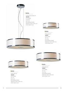 Moderná závesná lampa Roda Silver small 3