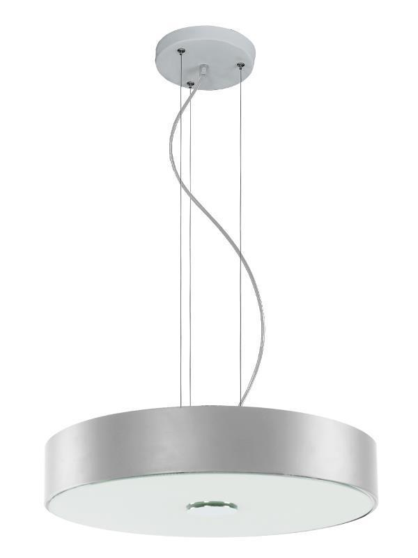 Moderná závesná lampa Roda Silver
