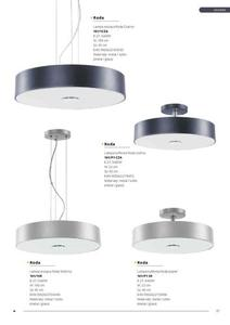 Moderné stropné svietidlo Roda Popiel small 1