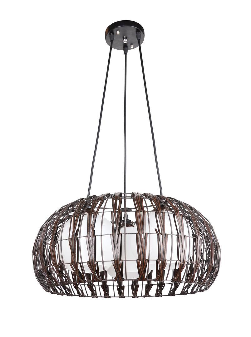Dizajnová závesná lampa Atol 3