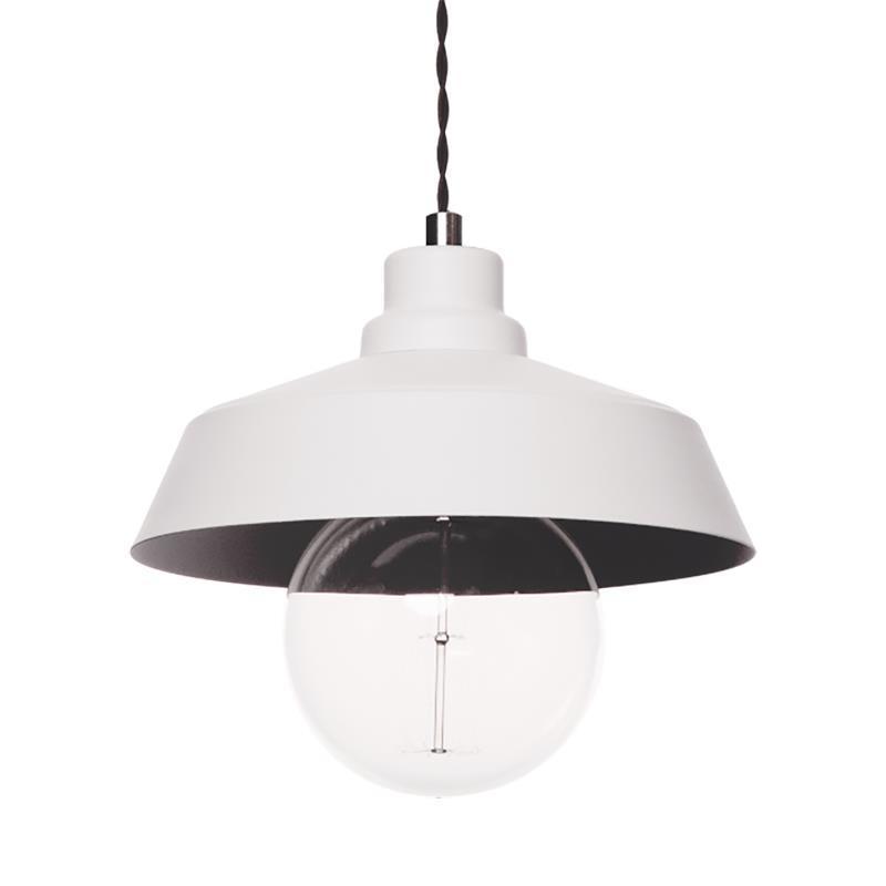 Dizajnová závesná lampa Vinci Z1 biela