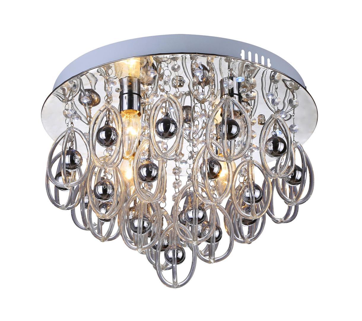 Dizajnové stropné svietidlo Hissar 4