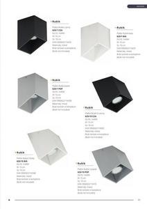 Moderné stropné svietidlo Rubik S White small 3