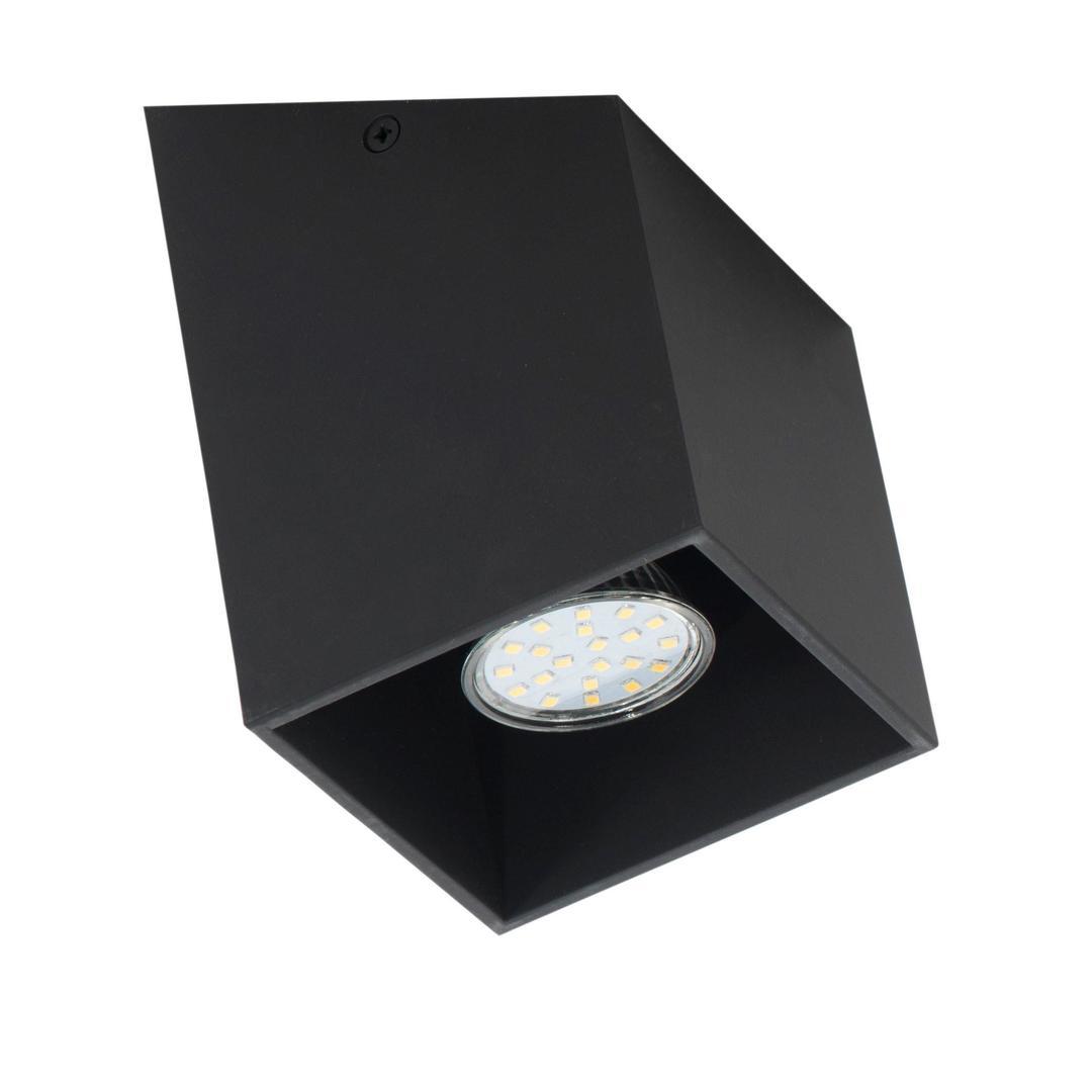 Moderné stropné svietidlo Rubik S Black