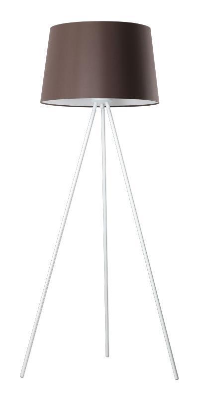 Dizajnová stojaca lampa Lea Bronze