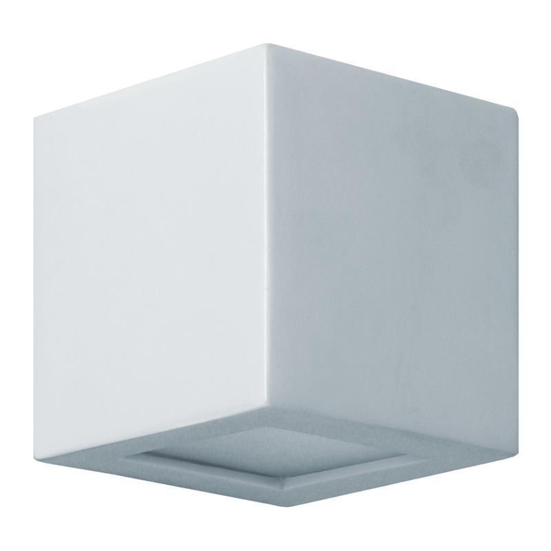 Moderné nástenné svietidlo Rossi 14 Grey