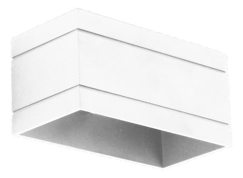 Dizajnové nástenné svietidlo Quado Deluxe B biele