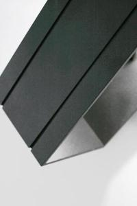 Moderné nástenné svietidlo Quado Deluxe B čierne small 5