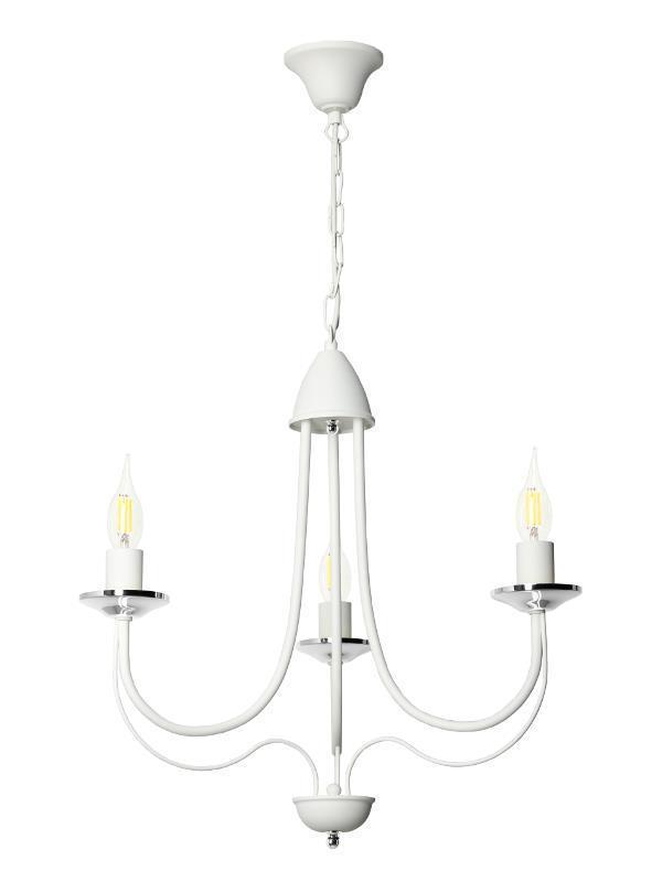 Dizajnový luster Nicoli 3 White