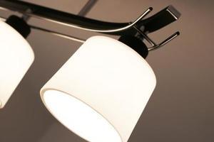 Klasická čierna závesná lampa Olimp 3 small 1