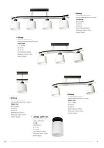 Klasická čierna závesná lampa Olimp 3 small 4