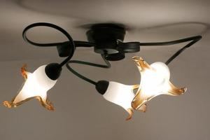 Klasická stropná lampa Major 3 small 2