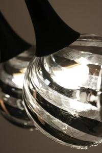 Moderné závesné svietidlo Louna 3 L small 3