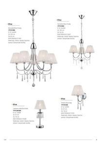 Klasická lampa Elsa White small 6