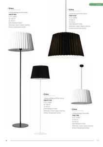 Klasická zimná biela podlahová lampa small 2