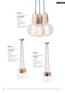 Moderná závesná lampa Woody 1 Sonoma small 1