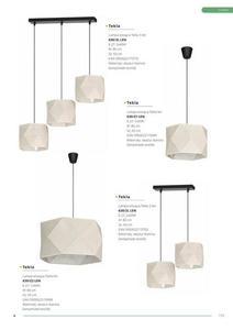 Klasická lampa s príveskom Taida 2 čierna small 2