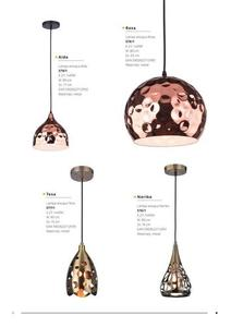 Moderná závesná lampa Aida small 1