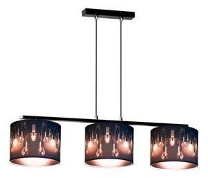 Minimalistická závesná lampa Isis 3 small 1