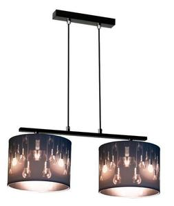 Minimalistická závesná lampa Isis 2 small 1