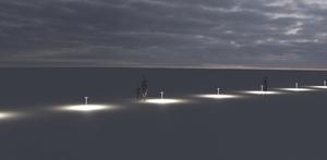 Prenosná lampa Platek - NAIL LED 3000K 93 ° small 9