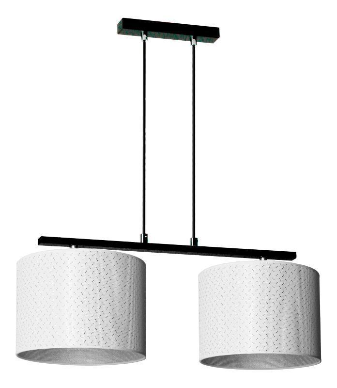 Moderná závesná lampa Heos 2