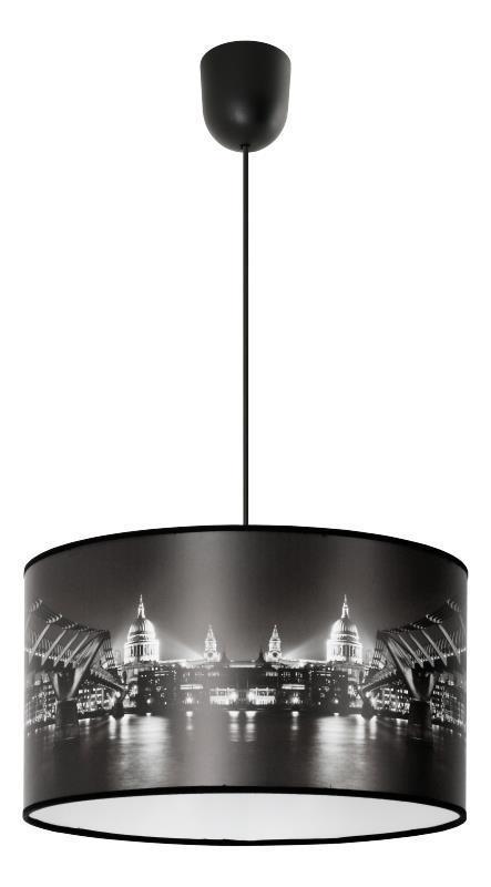 Moderná závesná lampa Metropolis