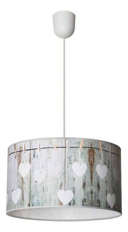 Škandinávska závesná lampa Sweet B