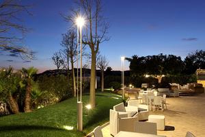 Záhradné svietidlo Platek - TRIS COB LED 3000K small 4