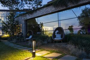 Záhradné svietidlo Platek - TRIS COB LED 3000K small 6
