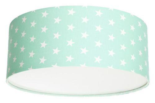 Plafond pre dievča Luminance stars E27 60W LED mint