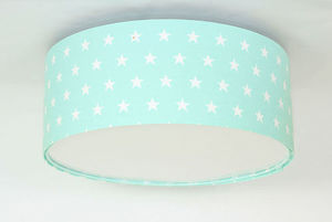 Plafond pre dievča Luminance stars E27 60W LED mint small 0