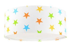 Detská lampa Luminance E27 60W LED biela / farebné hviezdy small 1